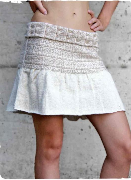 aggigliamento in fibre naturali di lana