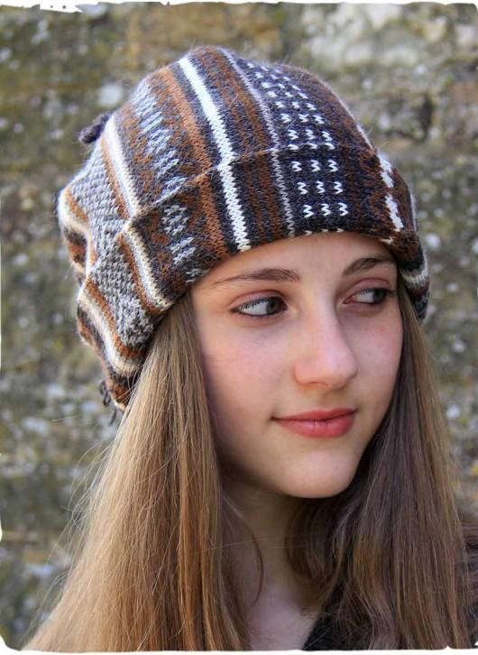 cappello e scaldacollo di lana d'alpaca per tutti