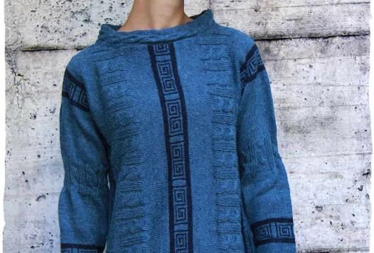 maglione etnico lana d'alpaca nazca