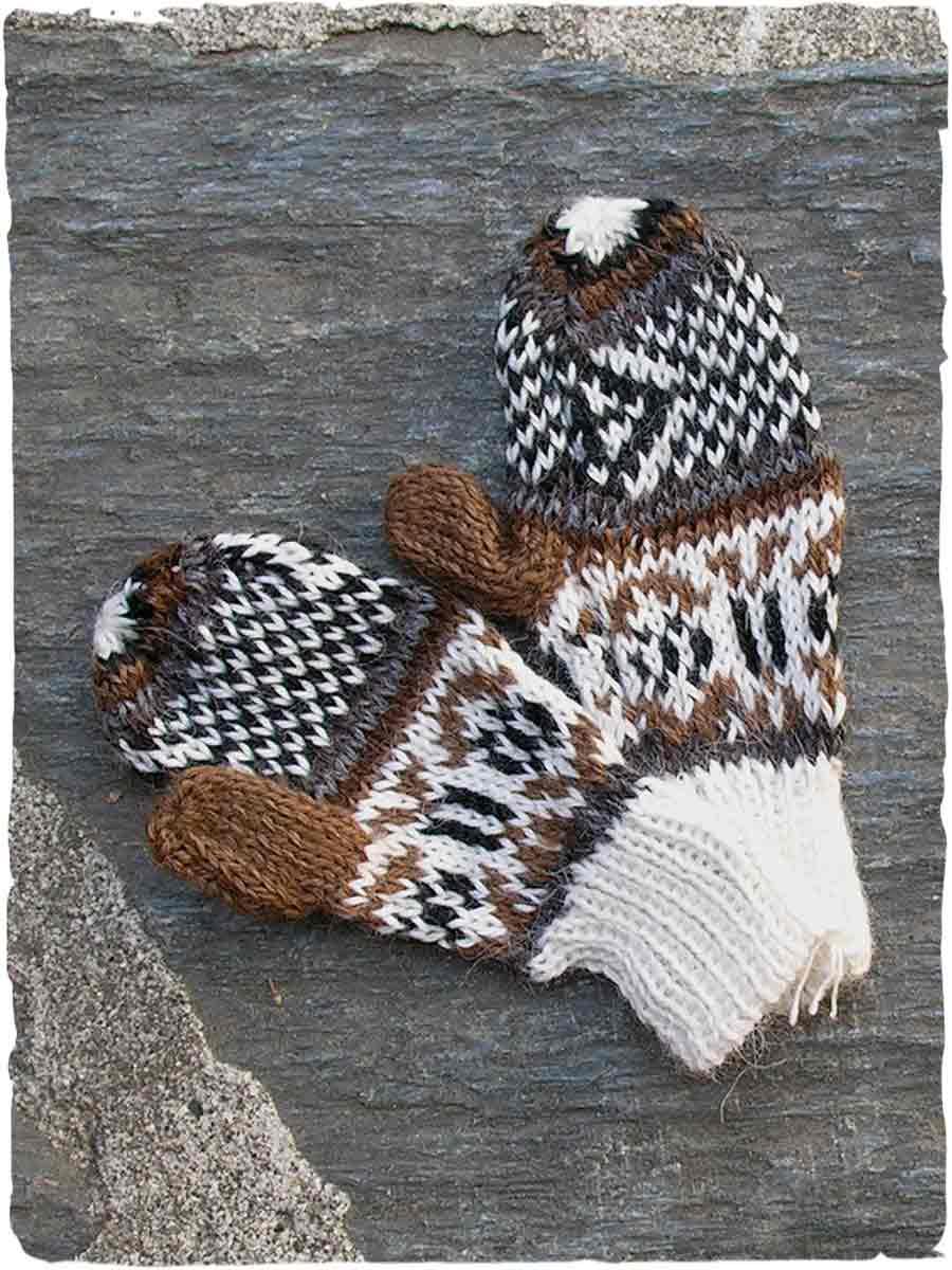 manopole lana bambini