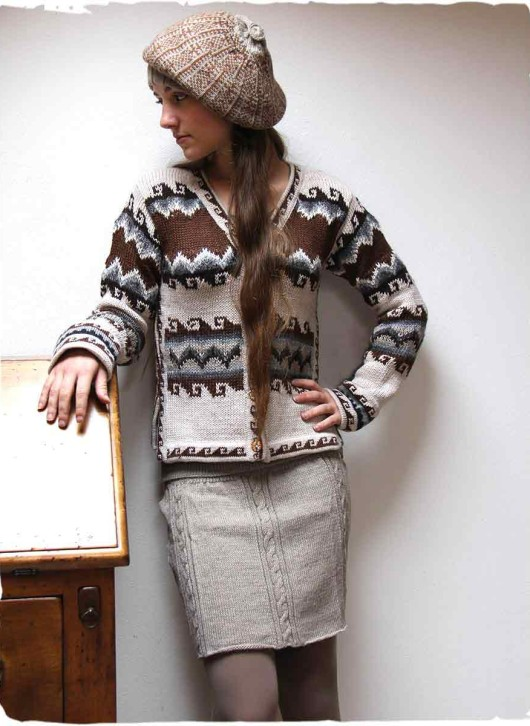 cardigana lana donna