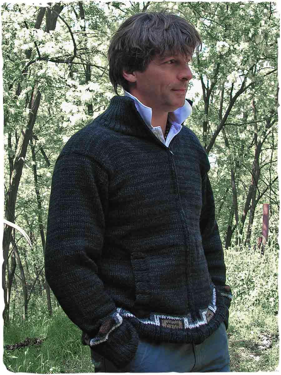 maglione uomo lana grossa