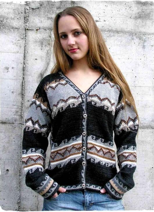 maglioni lana grossa donna