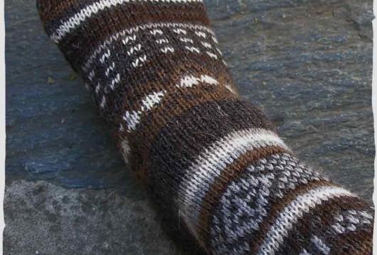 calze di lana donna