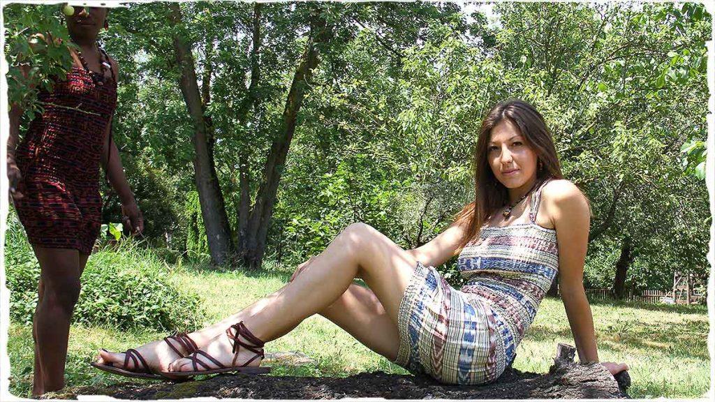 abbigliamento etnico online, vestito donna estivo in puro cotone