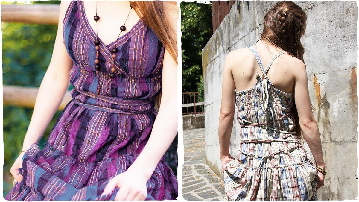 Abbigliamento stile hippie donna